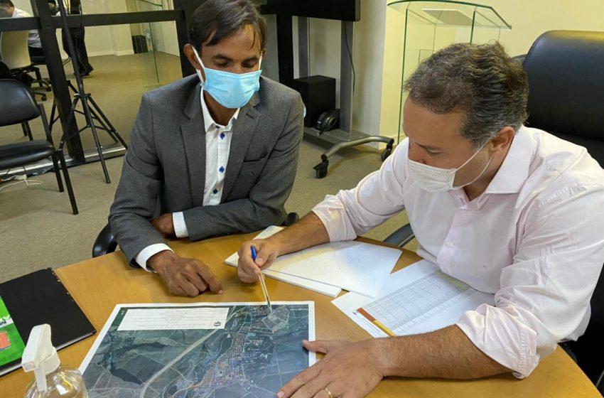 Prefeito  se reúne com Governador e garante melhorias para o município