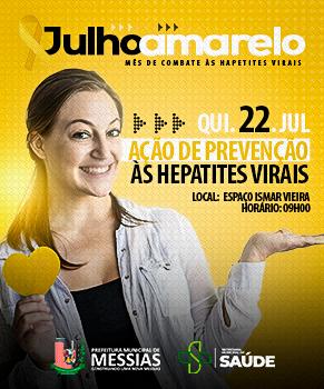 Ação de combate às Hepatites Virais
