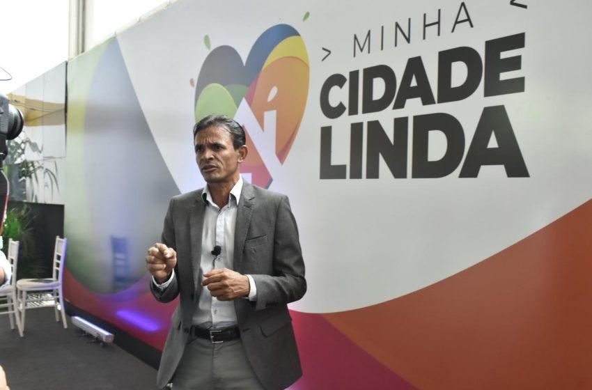 Prefeito Marcos Silva, participa do lançamento do Programa Minha Cidade linda, promovido pelo Governo de Alagoas